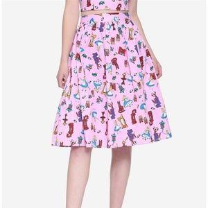 Alice In Wonderland Retro Skirt